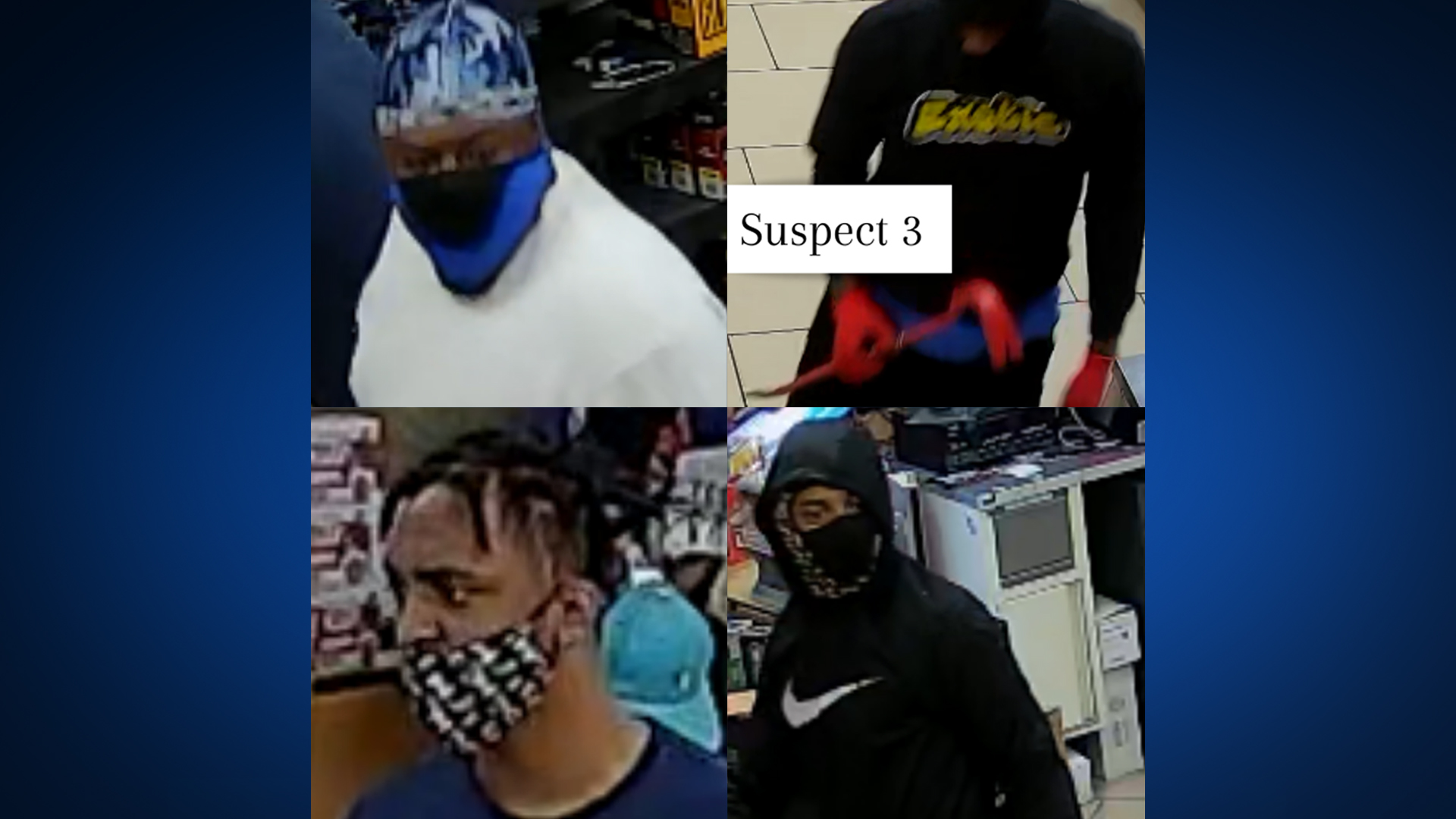 Suspects in October 7-Eleven robberies (APD Photo)
