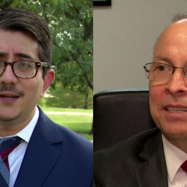 Travis County DA Candidates, Left: Jose Garza, Right: Martin Harry