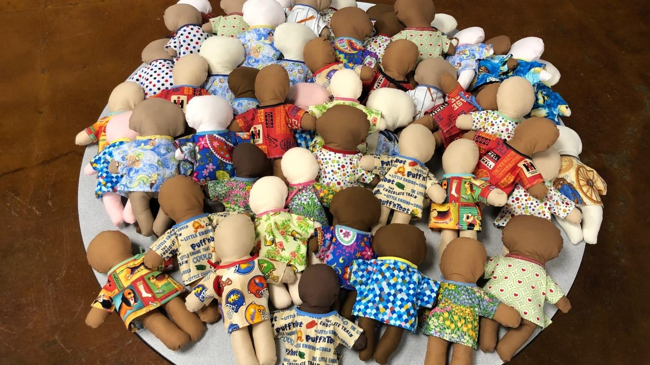 Sewing Group Donates Comfort Dolls to Austin Hospital10/15/2020