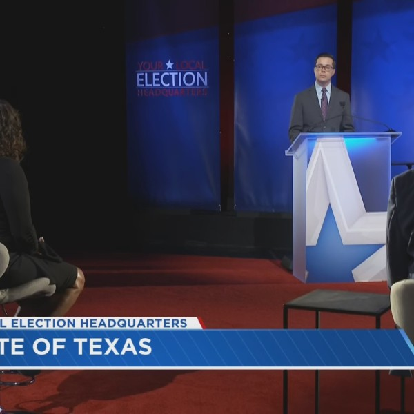 "Panelists discuss MJ Hegar and John Cornyn's debate performance on a special edition of ""State of Texas"" (KXAN Photo)"
