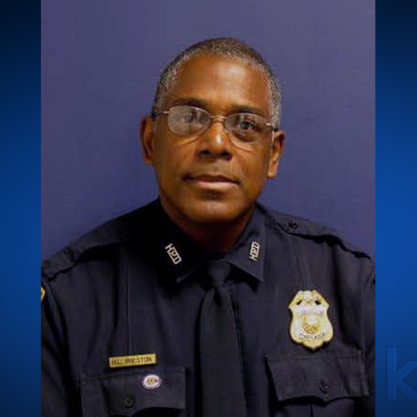 Sgt. Harold Preston was shot and killed while responding to a domestic disturbance call in southwest Houston (Houston Police Officers' Union Photo)
