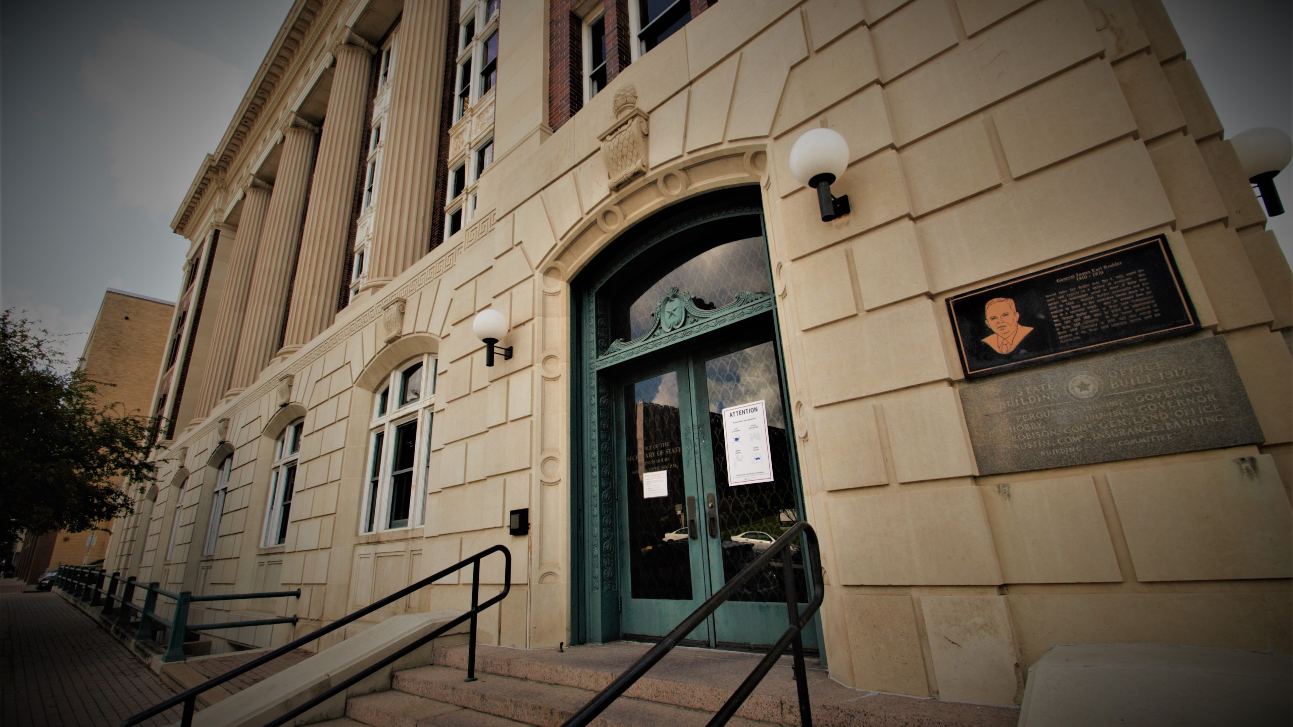 Most of the complaints filed with the Texas Attoeney General's Office since 2004 came from investigations referred from the Texas Secretary of State's Office. One person in this office determines whether a complaint filed meets the standard to move forward for a formal investigation. (KXAN Photo/Ben Friberg)