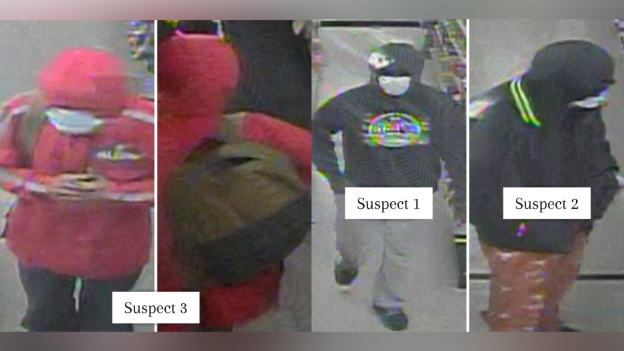 Suspects accused in Oct. 8 Shepherd's Market robbery (APD Photo)