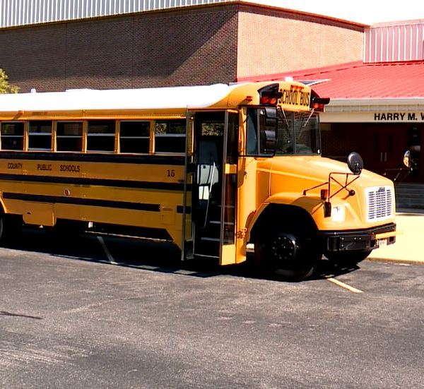 Some of Mathews County Public Schools' buses are equipped with WiFI (WAVY Photo)