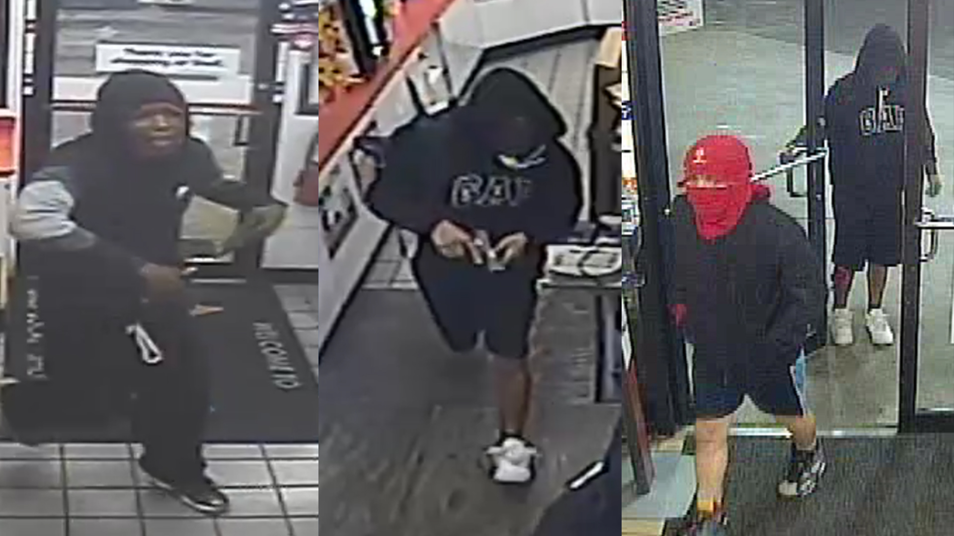 Suspects accused in South Congress convenience store robbery Oct. 18 (APD Photo)