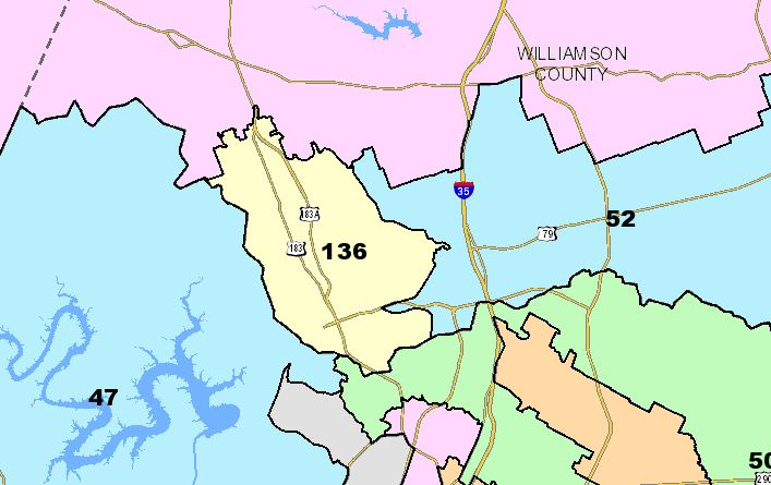 Texas State House District 136 (State of Texas Photo)