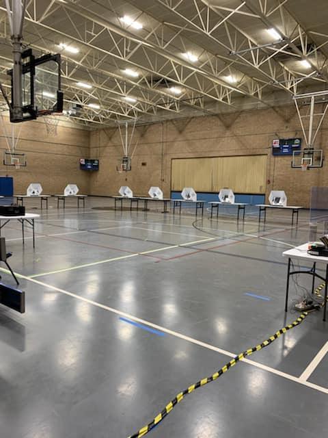 Travis County voting site 101320