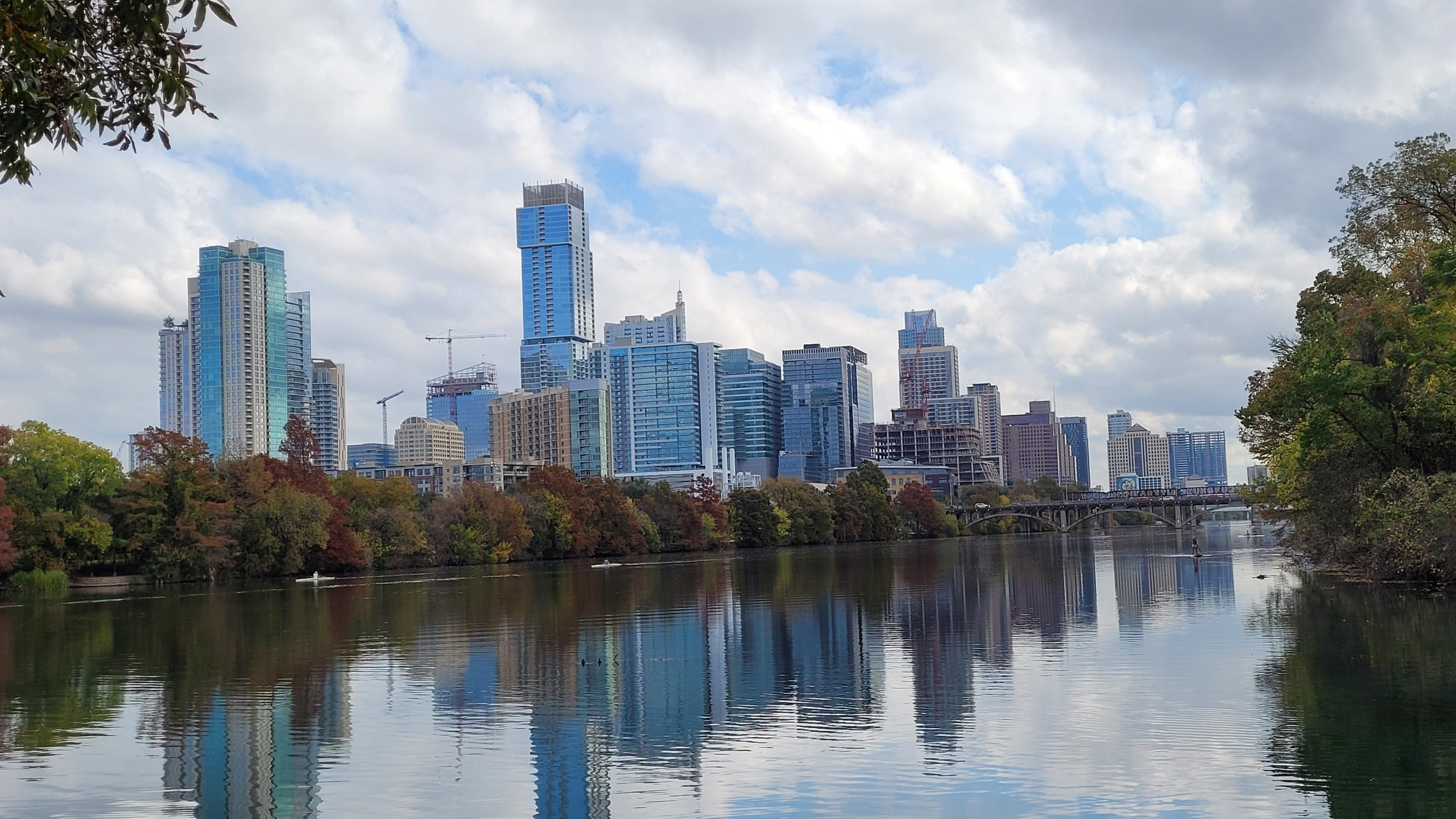 View of downtown Austin from Lou Neff Point Nov. 14, 2020 (Courtesy Donna Carlson)