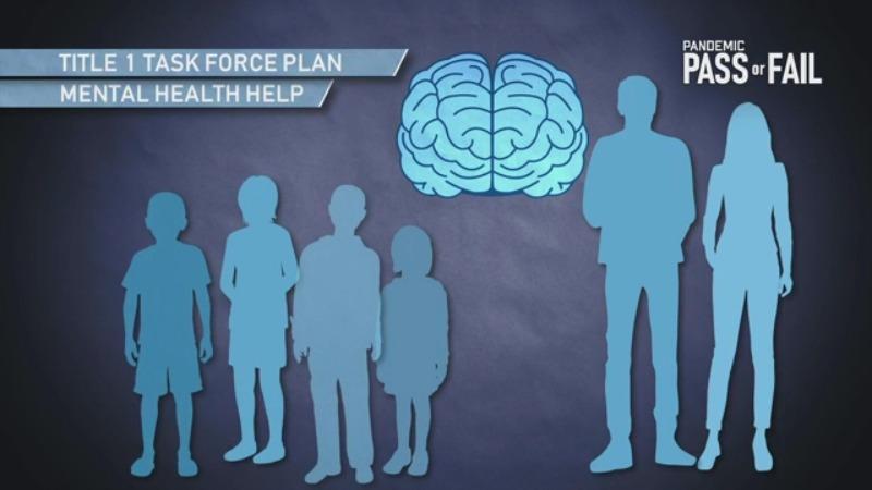 One of the goals is to bring mental health help and support to students at the schools