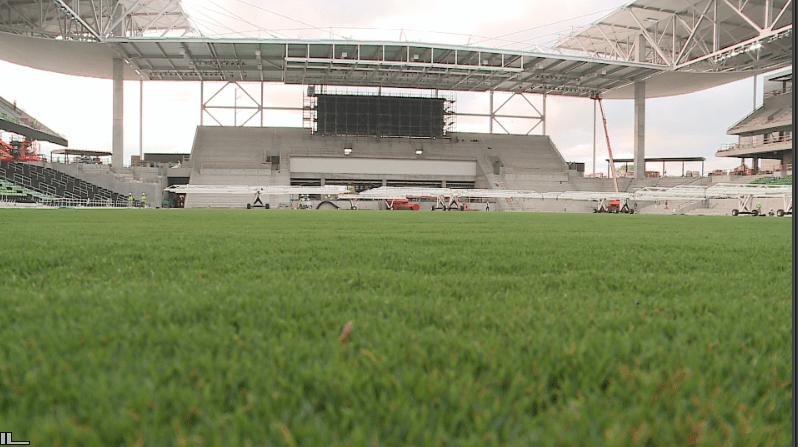 Austin FC putting finishing touches on new stadium