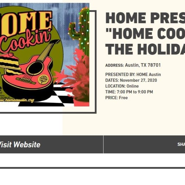 """HOME COOKIN' FOR THE HOLIDAYS"""
