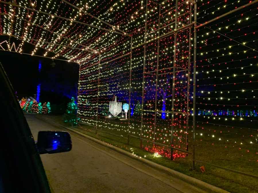 56th annual Trail of Lights (KXAN/Chelsea Moreno)