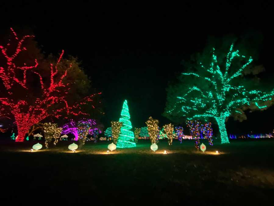 56th annual Trail of Lights (KXAN/Todd Bynum)