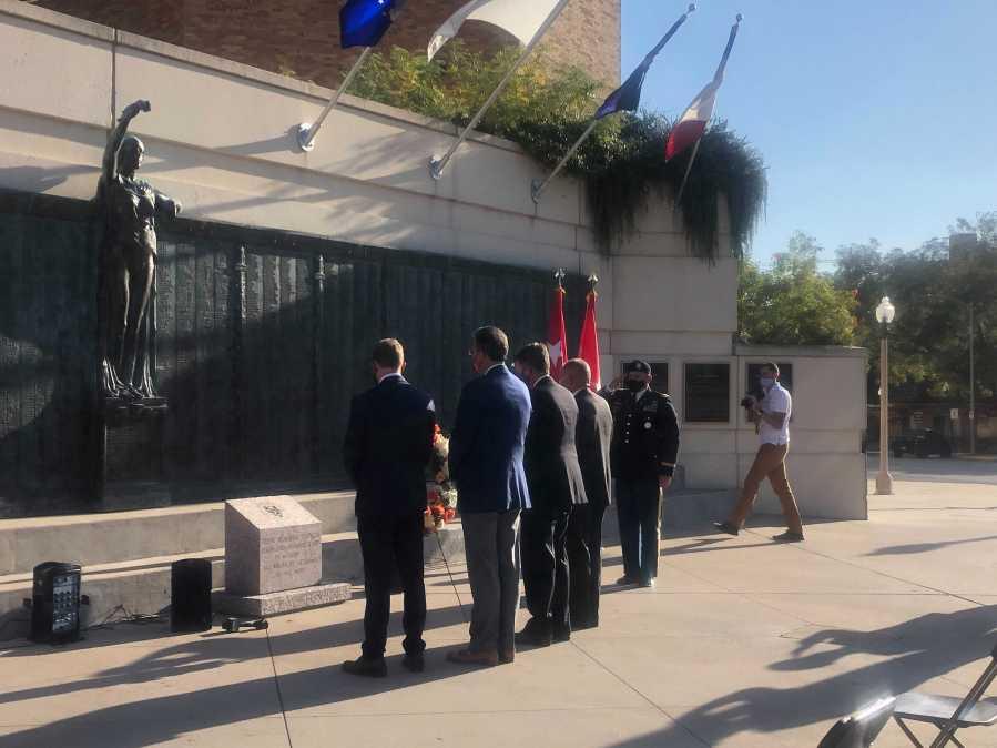University of Texas at Austin Hosts Veterans Day Ceremony (KXAN / Frank Martinez)