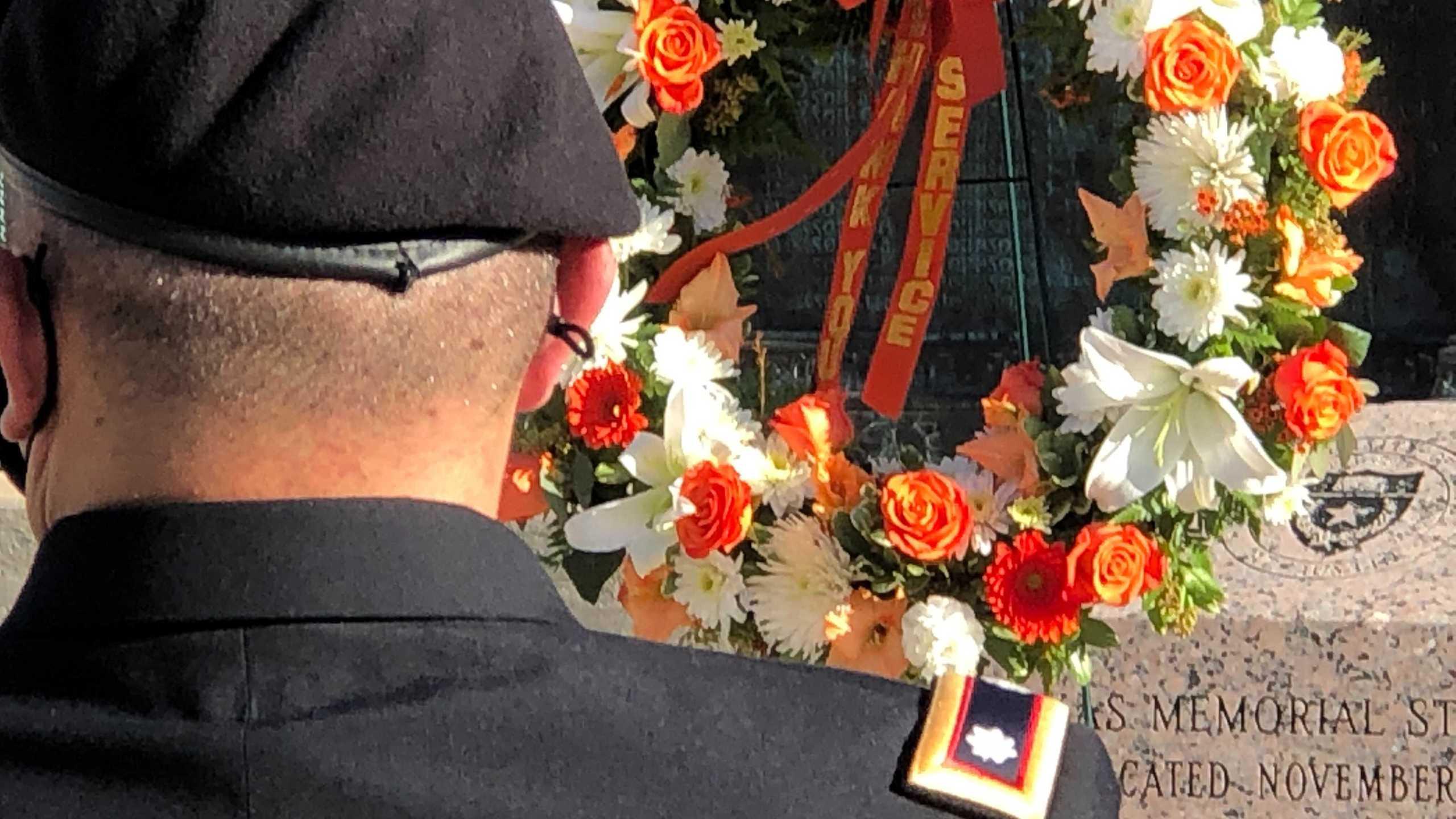 University of Texas at Austin hosts Veterans Day Ceremony (KXAN/Frank Martinez)