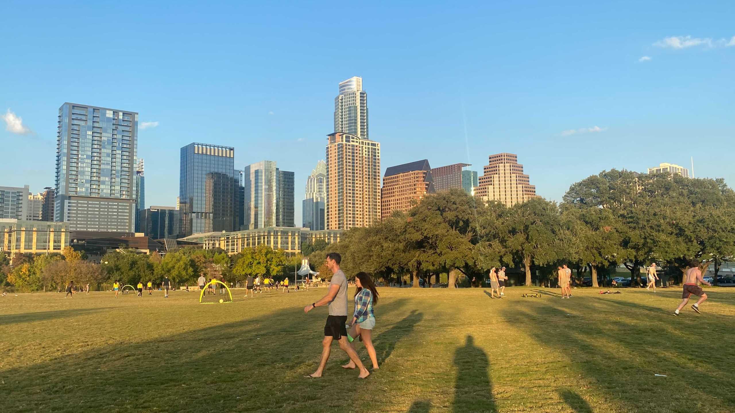 Downtown Austin (KXAN/Todd Bynum)