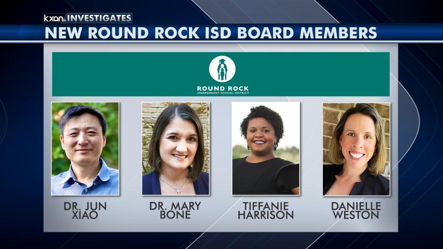 New 2020 RRISD school board members 111320
