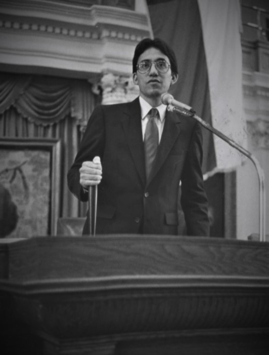 Former State Rep. Walter Martinez, D-San Antonio, carried legislation in 1983 that created requirements for Texas law enforcement agencies to report custodial deaths to the attorney general. (Texas House of Representatives Photo)
