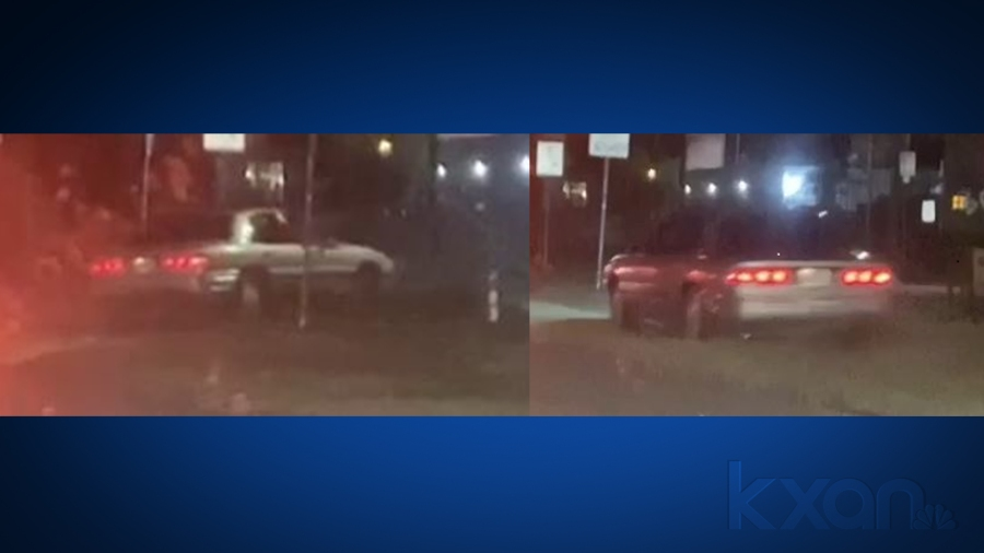 Suspects' car accused in drive-by shooting on Nov. 8 in East Riverside Drive parking lot (APD Photo)