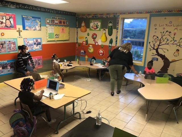 Community Pods classroom 110220