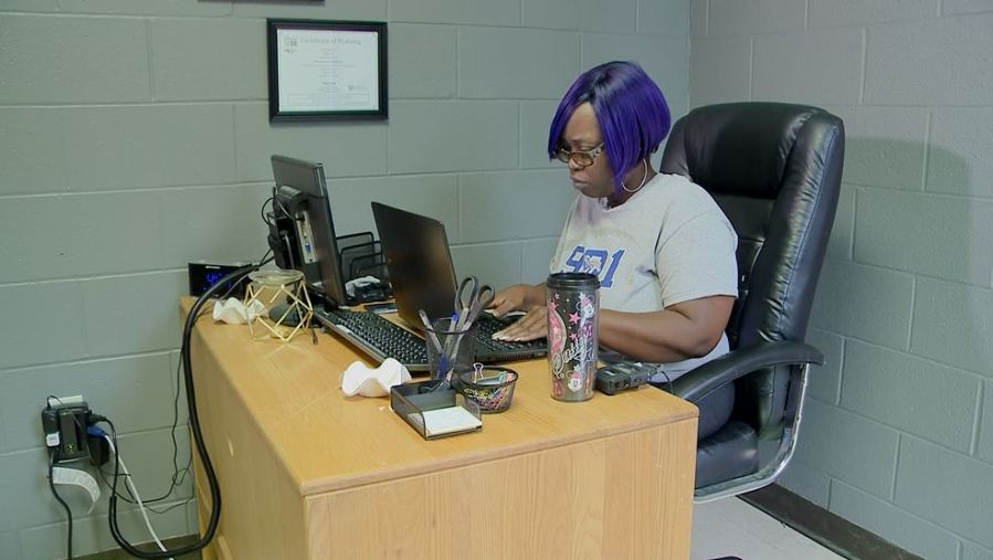 After getting help from Legacy of Legends, Fallon Gray now helps other families in need (WREG Photo)