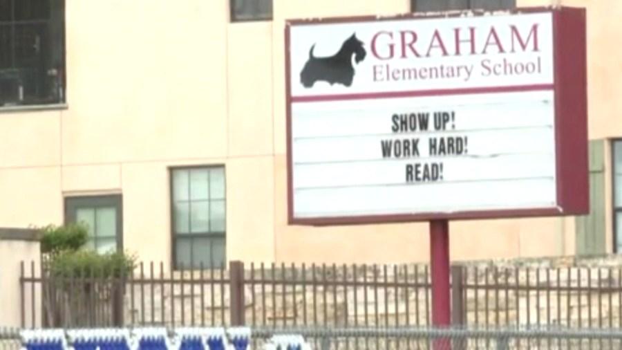 graham elementary sign