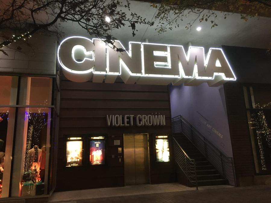 Violet Crown Cinema closed their theaters in March 11-24-2020