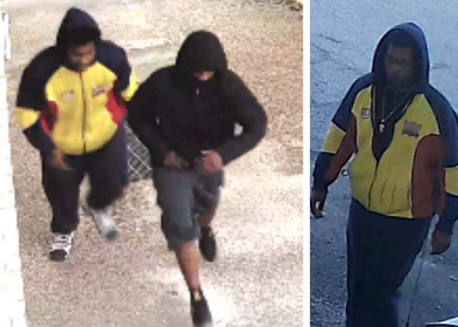 Car wash assault, robbery suspects from October (APD Photo)