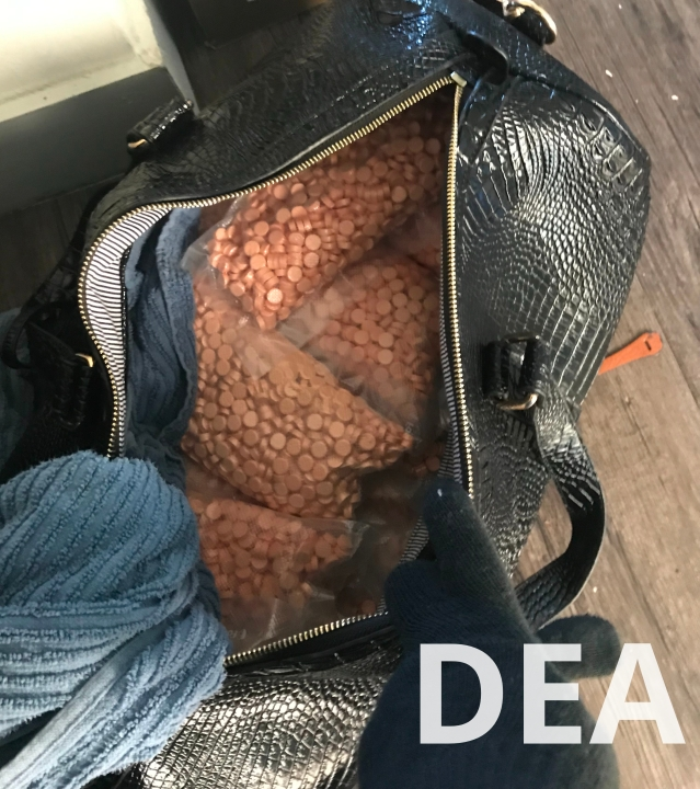 Counterfeit Adderall seized by the DEA Austin DO Tactical Diversion Squad during Operation Spyder Web (DEA Photo)