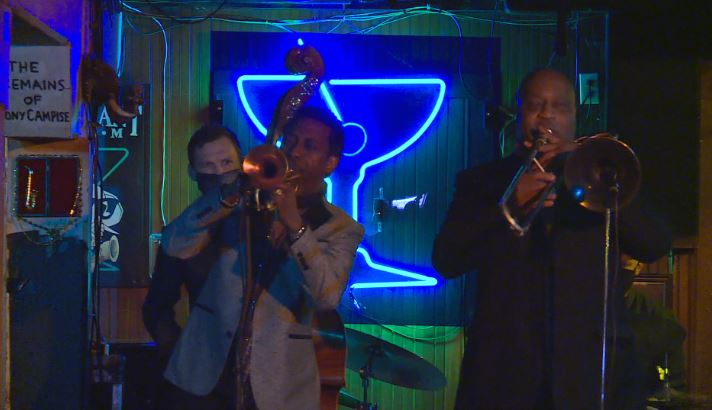 The Elephant Room managers hope to use their SAVES funding from the City of Austin to launch a 'club cast,' a broadcast of music shows. (KXAN photo/ Andrew Choat)