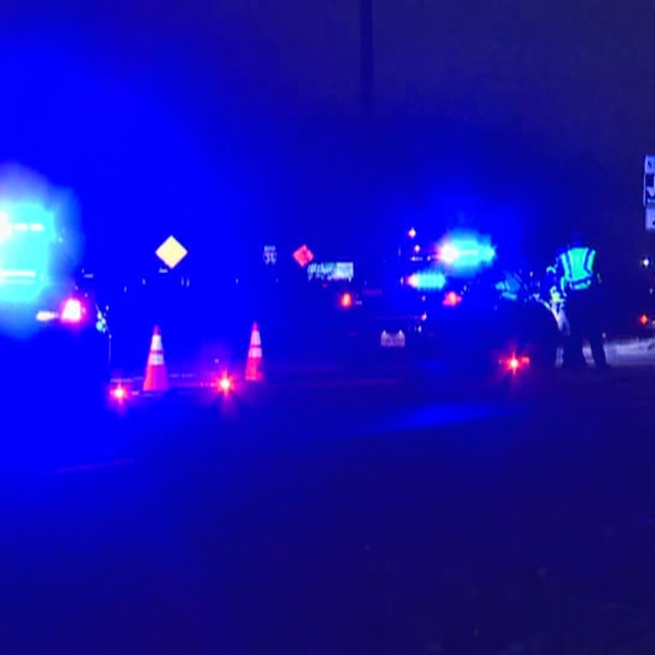 One person is dead after an auto vs. pedestrian crash off FM 1826 Dec. 29 (KXAN Photo/Andrew Choat)
