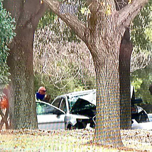 Woman dead after crash near intersection of Scofield Ridge Parkway and Range Horse Road Dec. 29 (KXAN/Ed Zavala)