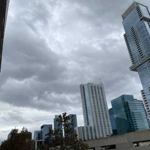 Downtown Austin on Dec. 29, 2020 (KXAN Photo/Todd Bailey)