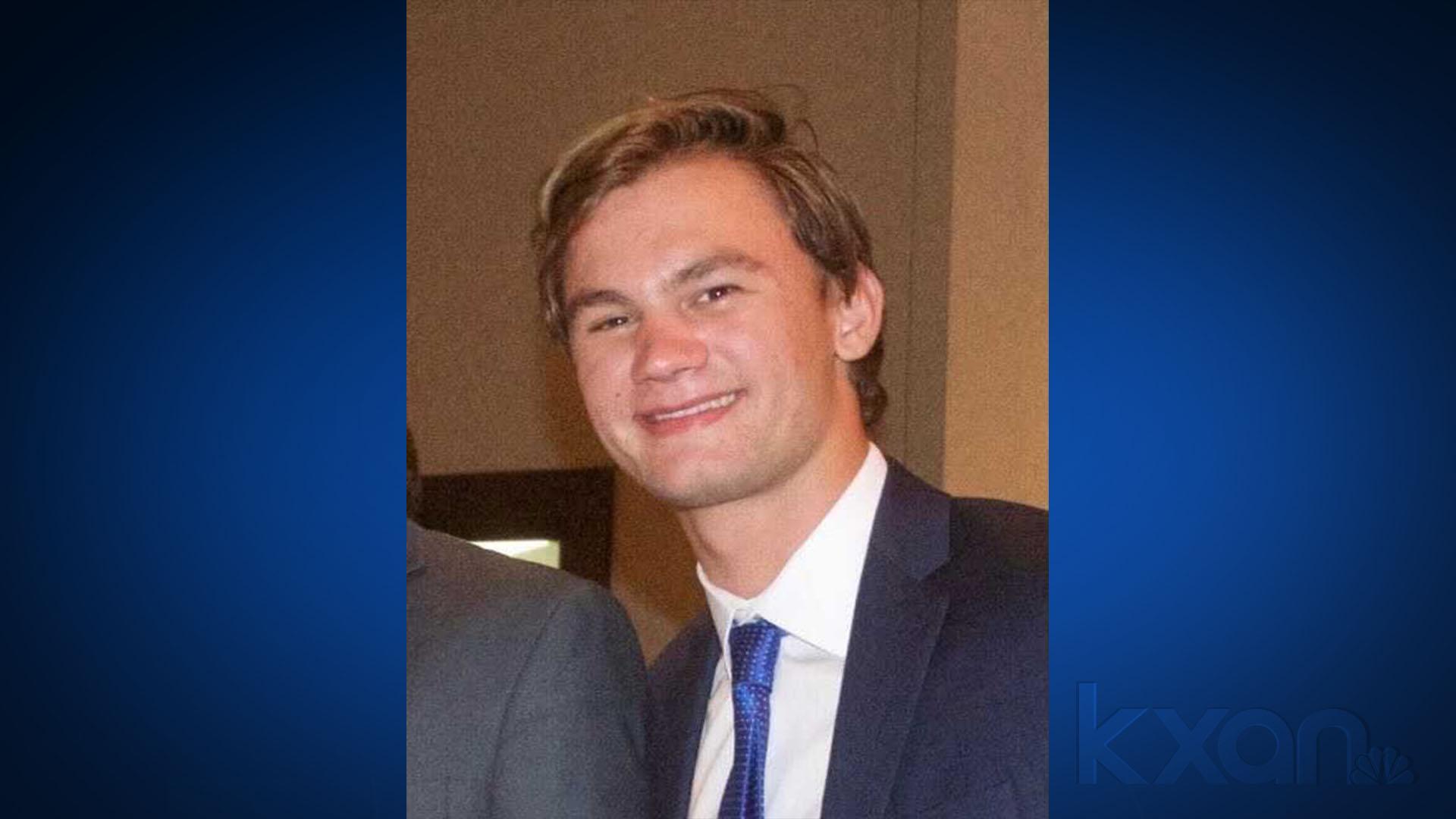 Texas State University student Jason Landry
