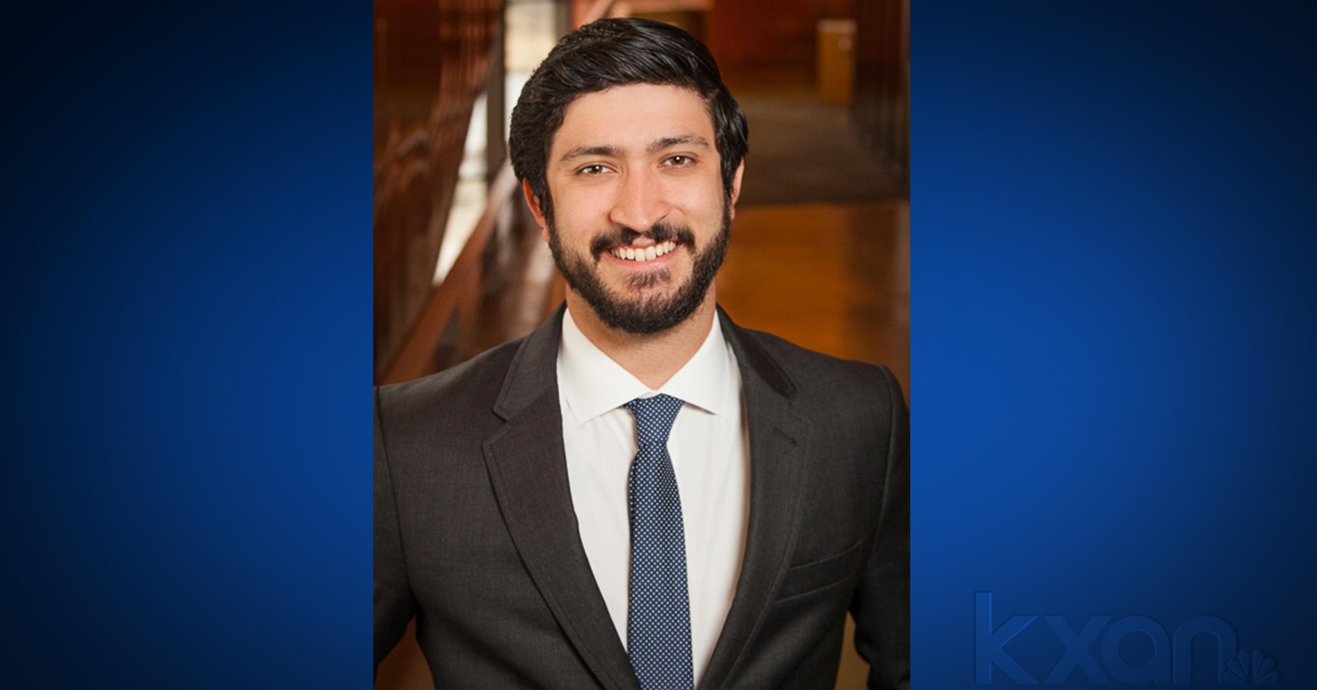 Austin City Council Member Gregorio Casar. Image Courtesy City of Austin.