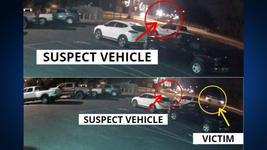 APD releases photos of suspected vehicle in southeast Austin road rage incident that killed woman (APD Photo)