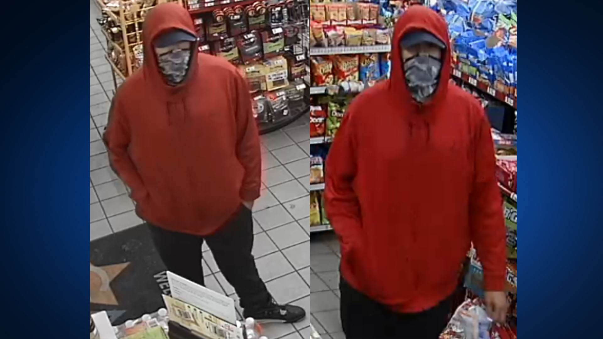 Suspect accused in Spirit Pit Stop robbery (SMPD Photo)
