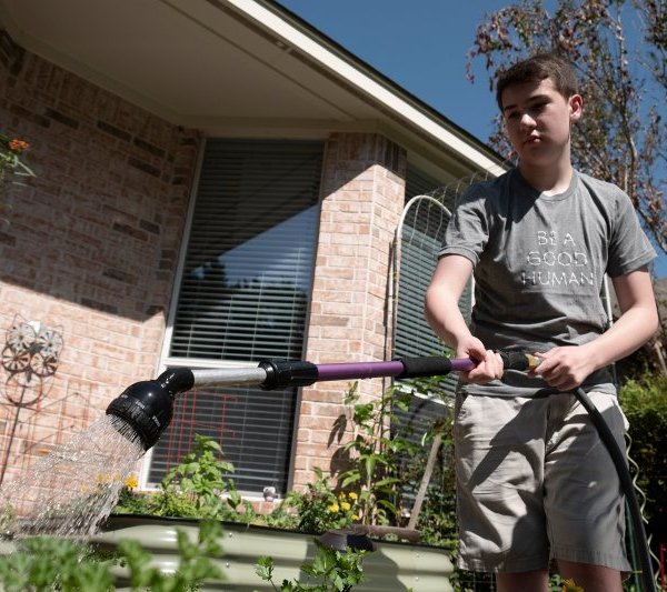 Ian McKenna from Austin becomes of the finalist for TIMEs Kid of the year