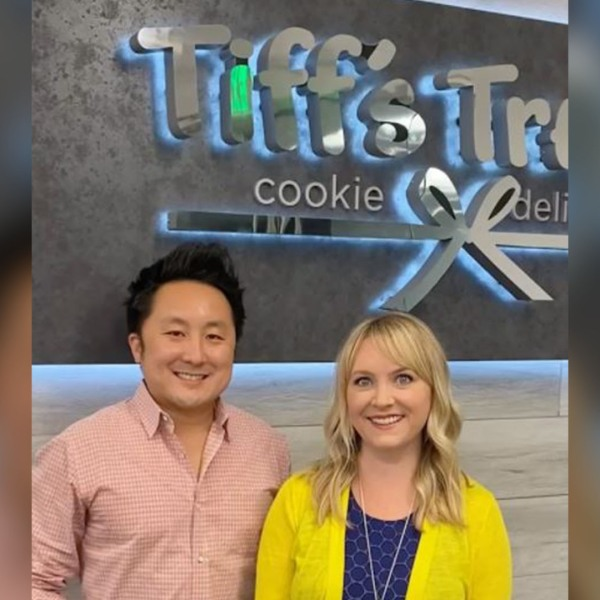Owners of Tiff's Treats, Tiff Taylor and Leon Chen (Photo from Instagram)