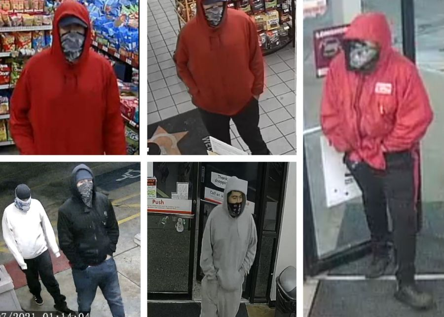 Suspect accused in four robberies in Austin, San Marcos and West Lake Hills (APD Photo)