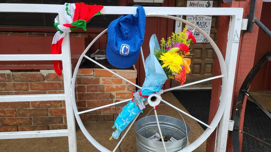 Broken Spoke - James White memorial