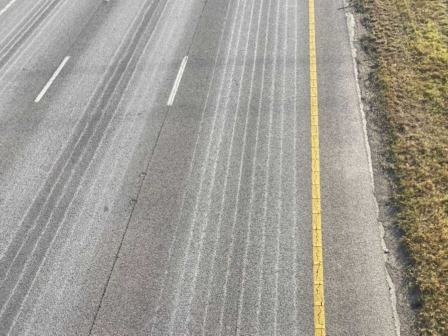 Roadway treatment in case of wintry weather (KXAN Photo/Todd Bynum)