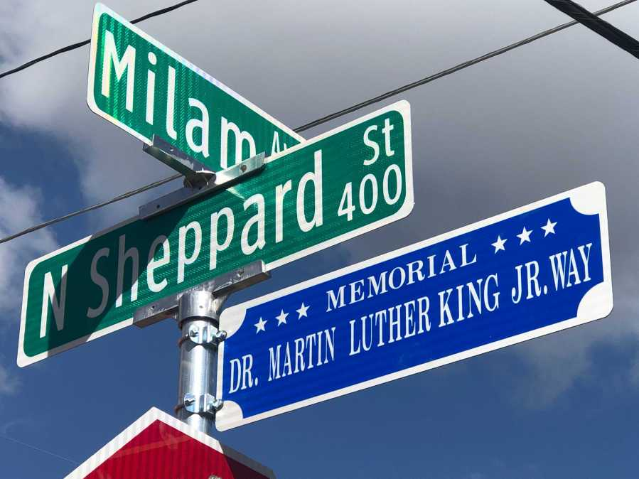 Round Rock City Council voted unanimously at its Jan. 14 meeting to designate Sheppard Street in honor of Dr. Martin Luther King Jr. (KXAN/Frank Martinez)