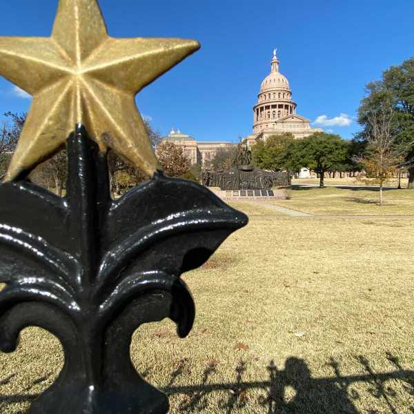 Texas State Capitol on Martin Luther King, Jr. Day on Jan. 18 (KXAN/Todd Bynum)