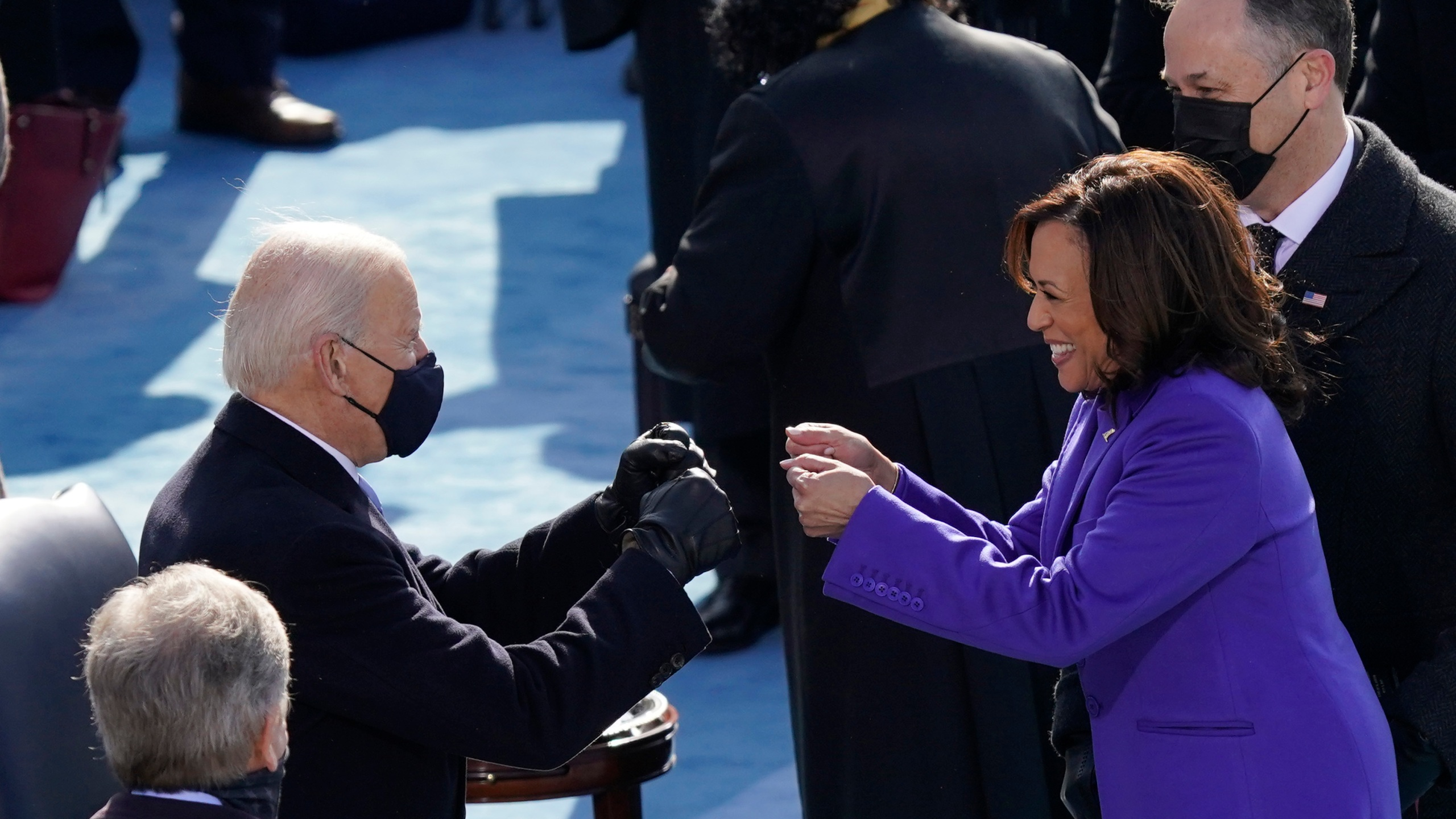 Inauguration Day Proceedings As Joe Biden Kamala Harris Take Office Kxan Austin