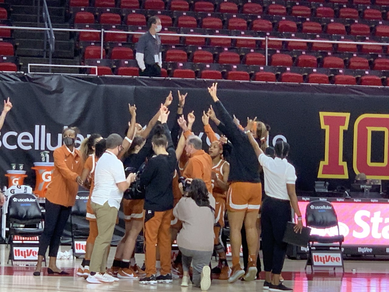 Texas women's basketball - Iowa State