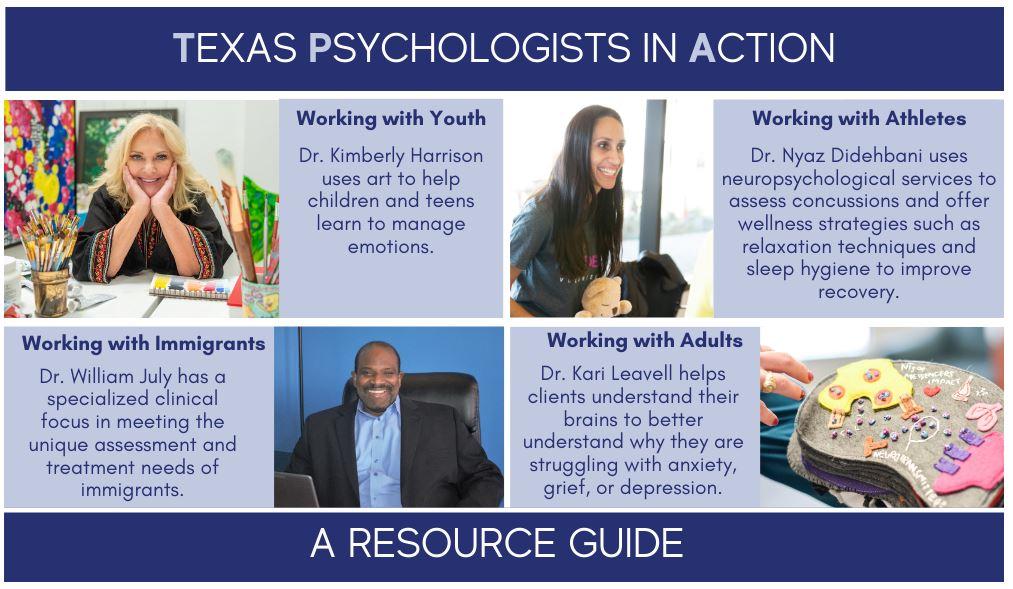 Texas Psychological Association website