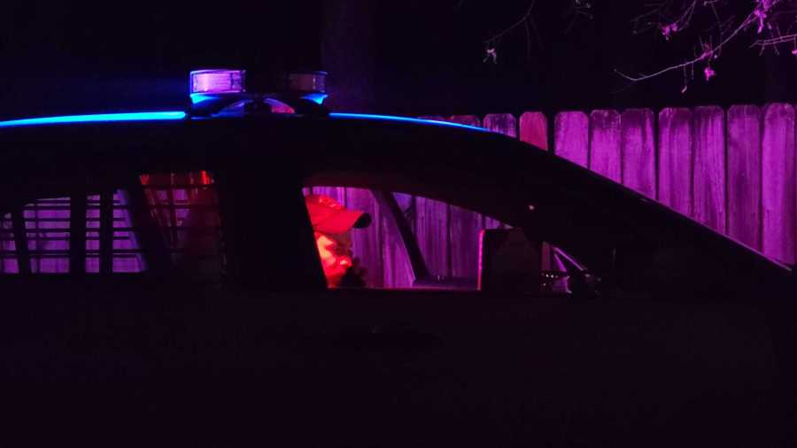 Three people were hurt, 1 adult and 2 kids, after a northwest Austin shooting on Balboa Lane on Feb. 3, 2021 (KXAN/Andrew Choat)
