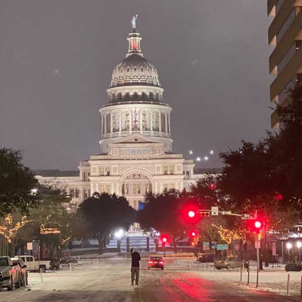 Texas State Capitol - Congress Avenue view
