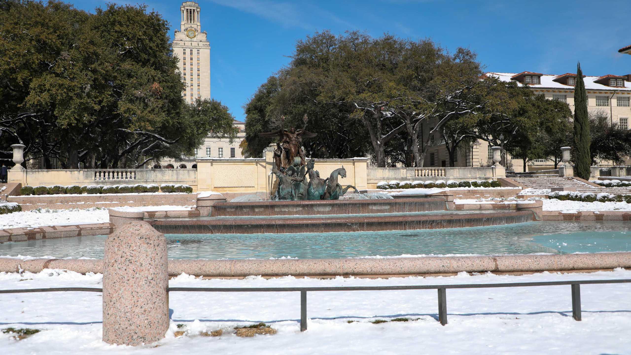 University of Texas at Austin Feb. 17, 2021 (Photo: Ashley Miznazi)